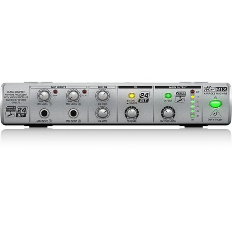 Behringer MIX800 Karaoke Machine-Voice CNCL/FX