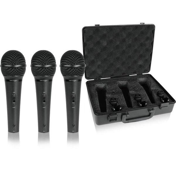 Behringer Behringer XM1800S Dynamic Microphone 3-Pack