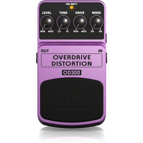 Behringer OD300 Overdrive/Distortion Pedal