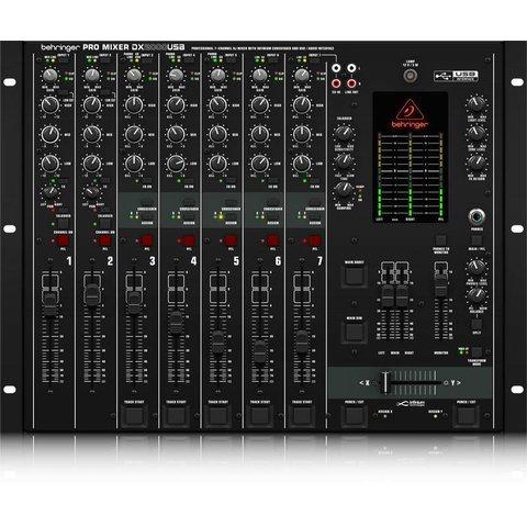 Behringer DX2000USB 7-Channel DJ Mixer, USB