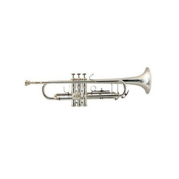 Bach Bach TR305SBP Student Bb Trumpet, Silver Plated w/ Backpack Case