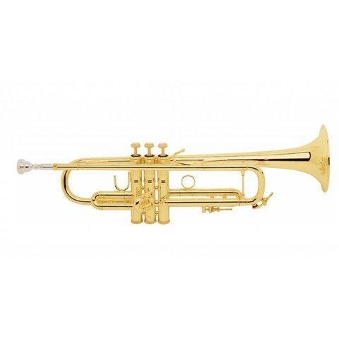 Bach LT18037G Stradivarius Lightweight Profess Bb Trumpet, #37 Gold Brass Bell