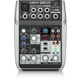 Behringer Behringer Q502USB 5-Input 2-Bus Mixer, XENYX/EQ