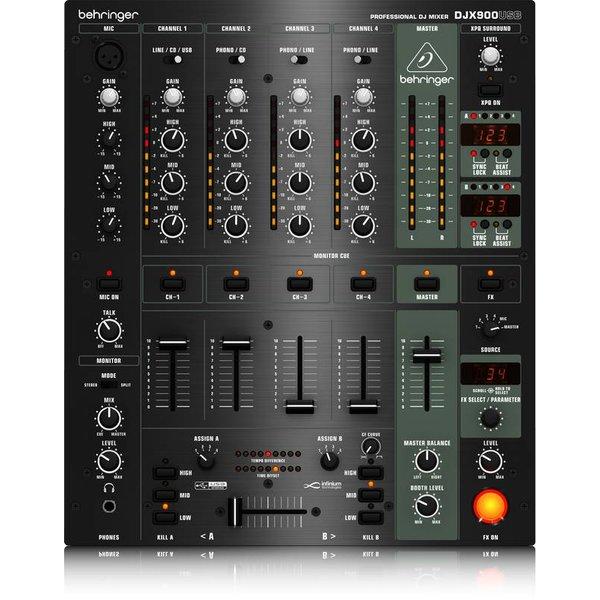 Behringer Behringer DJX900USB 5-Channel DJ Mixer, USB