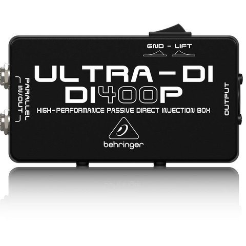 Behringer DI400P Passive Direct Injection Box
