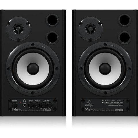 Behringer MS40 24-Bit/192 kHz 40W Monitors