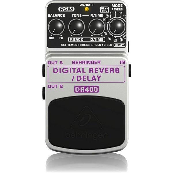 Behringer Behringer DR400 Digital Reverb/Delay Pedal