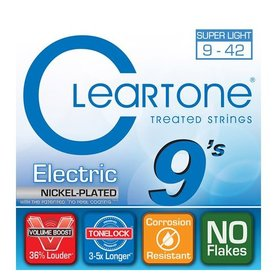 Cleartone Cleartone 9409 EMP Electric Guitar Strings .009-.042 Super Light