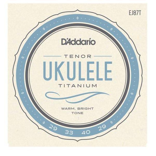 D'Addario D'Addario EJ87T Titanium Ukulele Strings, Tenor