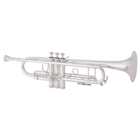 King 2055SLA Silver Flair Performance Bb Trumpet w/ Thumb Saddle, Clear Lacquer