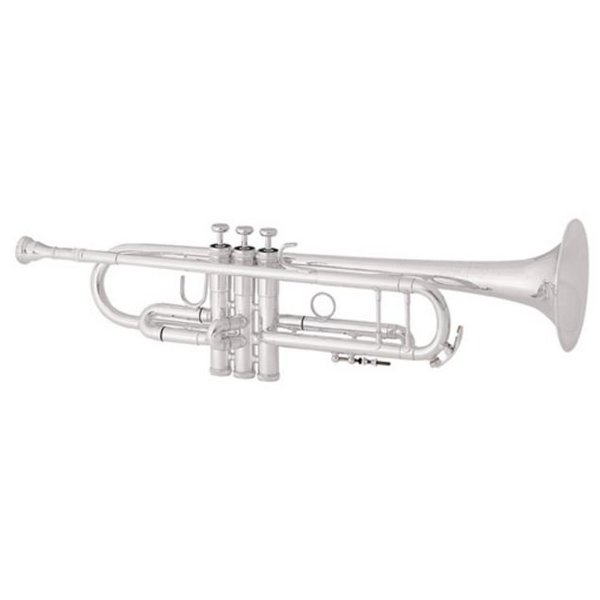 King King 2055SLA Silver Flair Performance Bb Trumpet w/ Thumb Saddle, Clear Lacquer