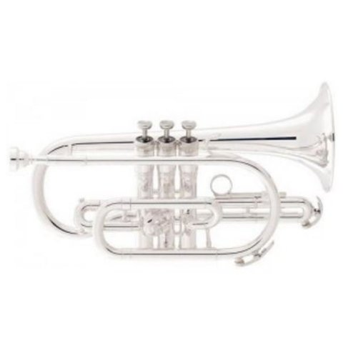 King 605WSP Student Cornet, Silver Plated
