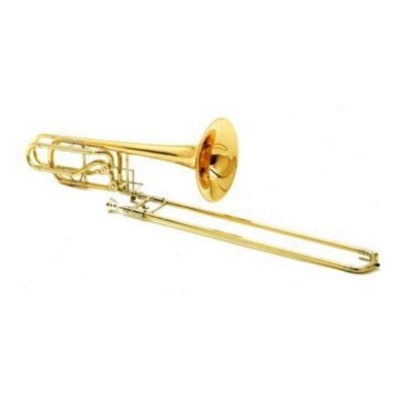 Conn Conn 62HSP Professional Bass Trombone, Silver Plated