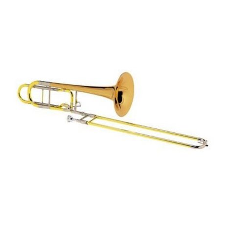 Conn 110HSP Professional Bass Trombone, F Rotor, Silver Plated
