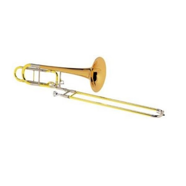 Conn Conn 110HSP Professional Bass Trombone, F Rotor, Silver Plated