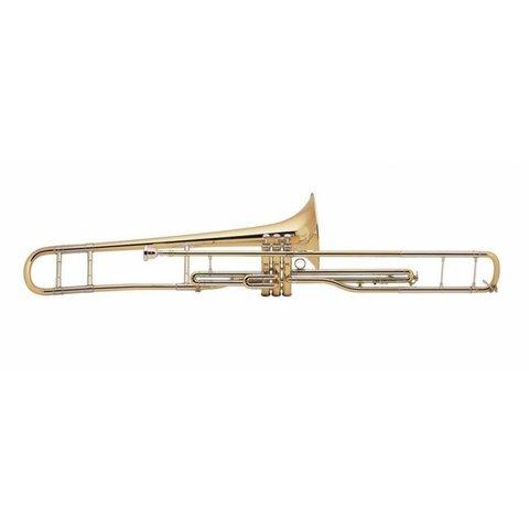 Bach V16S Stradivarius Professional Valve Trombone, Silver Plated Finish