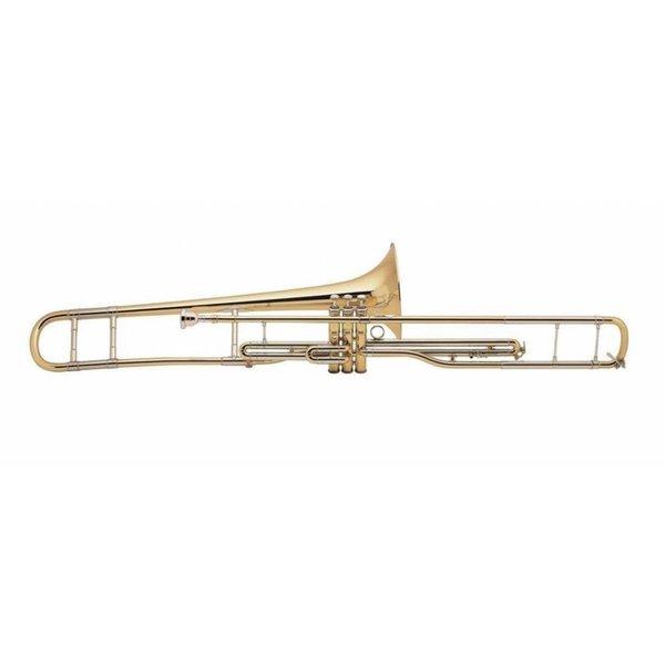 Bach Bach V16S Stradivarius Professional Valve Trombone, Silver Plated Finish