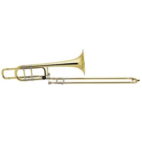 Bach 50BOG Stradivarius Profess Bb/F Bass Trombone, Open Wrap, Gold Brass Bell