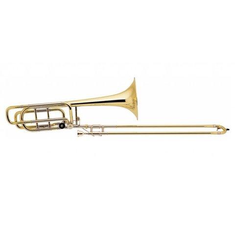 Bach 50B3OG Stradivarius Profess Bb/F/Gb Bass Trombone Open Wrap/Gold Brass Bell