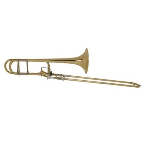 Bach 42AFS Stradivarius Professional Tenor Trombone, Silver Plated