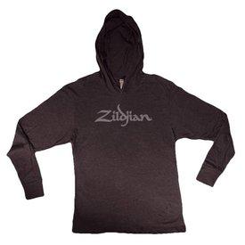 Zildjian Zildjian Long Sleeve Lightweight Hoodie, Charcoal