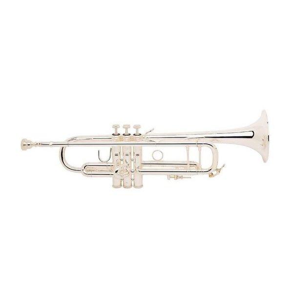 Bach Bach LR180S43G Stradivarius 180 Profess Bb Trumpet Silver Pltd #43 Gld Brss Bell