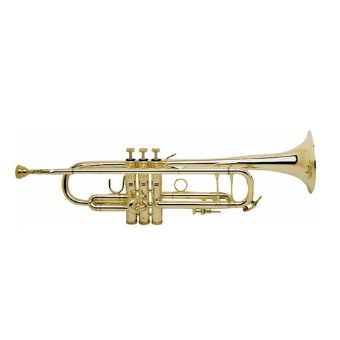 Bach 18043G Stradivarius 180 Series Professional Bb Trumpet, #43 Gold Brass Bell