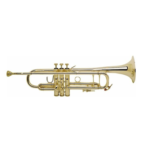 Bach Bach 18043G Stradivarius 180 Series Professional Bb Trumpet, #43 Gold Brass Bell