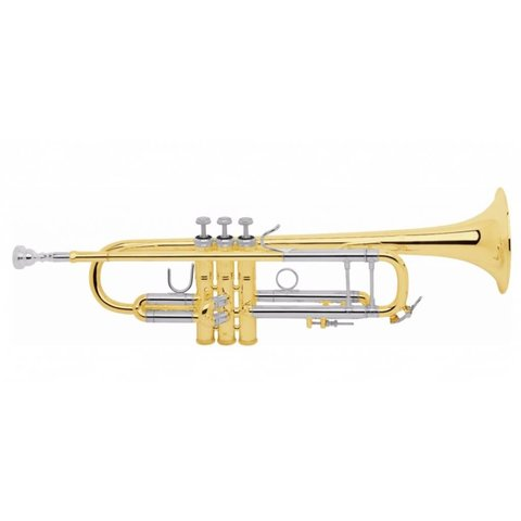 Bach 18037 Stradivarius 180 Series Professional Bb Trumpet, #37 Bell, Lacquer