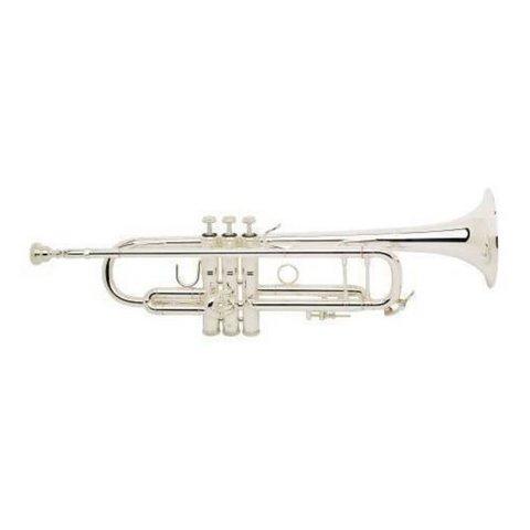 Bach 180S37G Stradivarius 180 Profess Bb Trumpet Silver Pltd #37 Gold Brass Bell