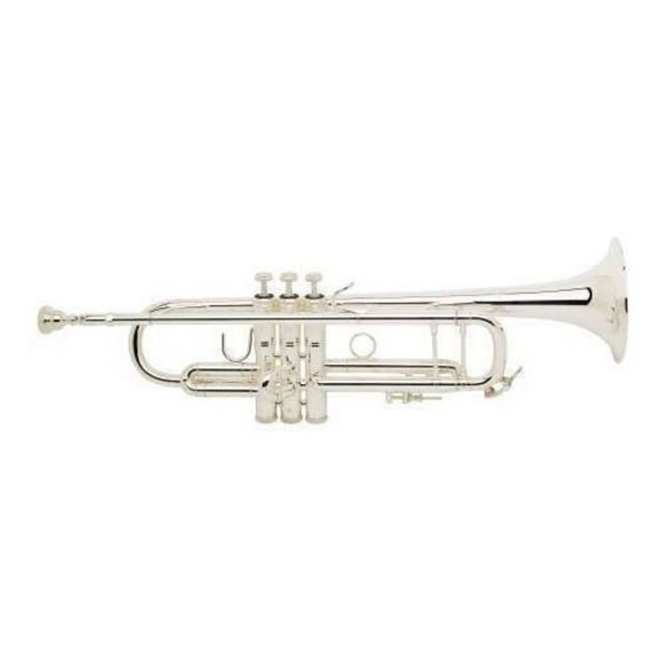 Bach Bach 180S37G Stradivarius 180 Pro Bb Trumpet Silver Plated w #37 Gold Brass Bell