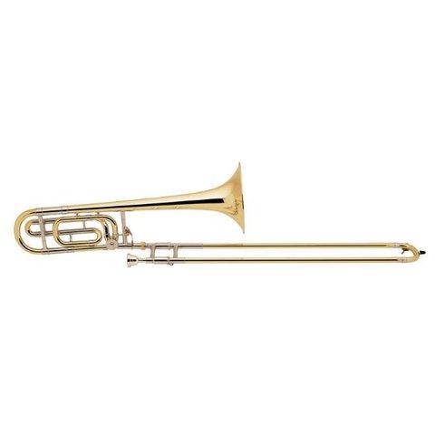 Bach 36BG Stradivarius Profess Tenor Trombone; F Rotor/Traditional Wrap/Gold