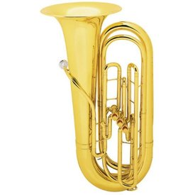 King King 1135 BBb Tuba, 3/4 Size, Standard Finish