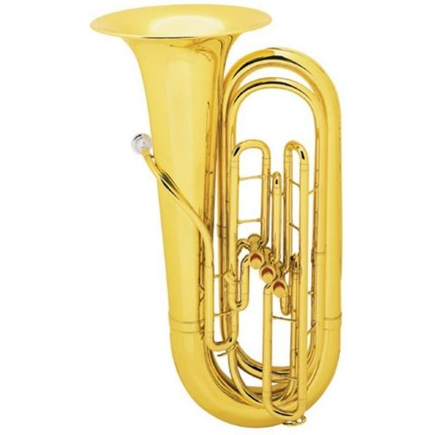 King 1135 BBb Tuba, 3/4 Size, Standard Finish