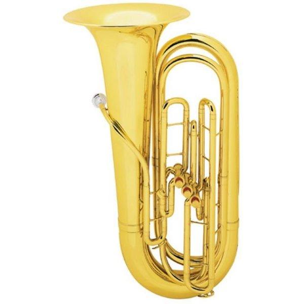 King King 1135 BBb Tuba, 3/4 Size, Standard Finish