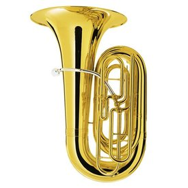 King King 2340W Step-Up Model BBb Tuba, 3-Valve, w/ Case