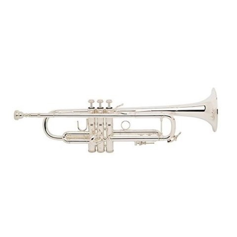 Bach LR180S37G Stradivarius 180 Profess Bb Trumpet Silver Pltd #37 Gld Brss Bell