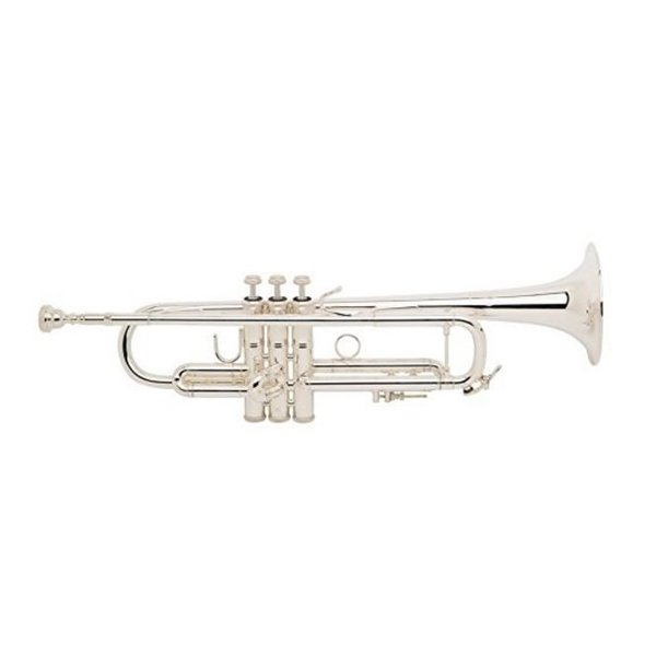 Bach Bach LR180S37G Stradivarius 180 Profess Bb Trumpet Silver Pltd #37 Gld Brss Bell