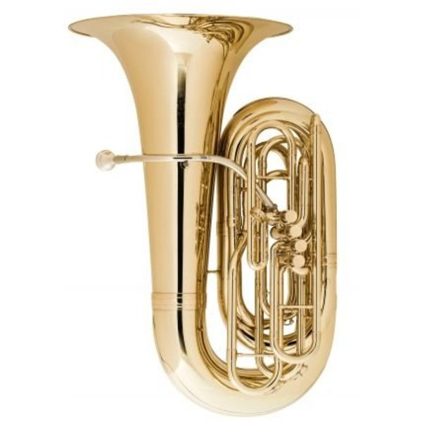 King King 2341 BBb Tuba, 4-Valve, Standard Finish