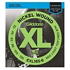 D'Addario EXL165-6 6-String Nickel Wound Bass, Custom Light, 32-135, Long Scale