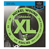 D'Addario ESXL165 Nickel Wound Bass, Medium, 50-105, Double Ball End, Long Scale