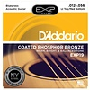 D'Addario EXP19 Coated Phosphor Bronze Acoustic Lt Top/Med Bot/Bluegrass, 12-56