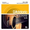 D'Addario EJ14 80/20 Bronze Acoustic, Light Top/Medium Bottom/Bluegrass, 12-56