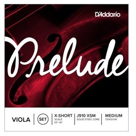 D'Addario Orchestral D'Addario Prelude Viola String Set X-Short Small Scale Medium