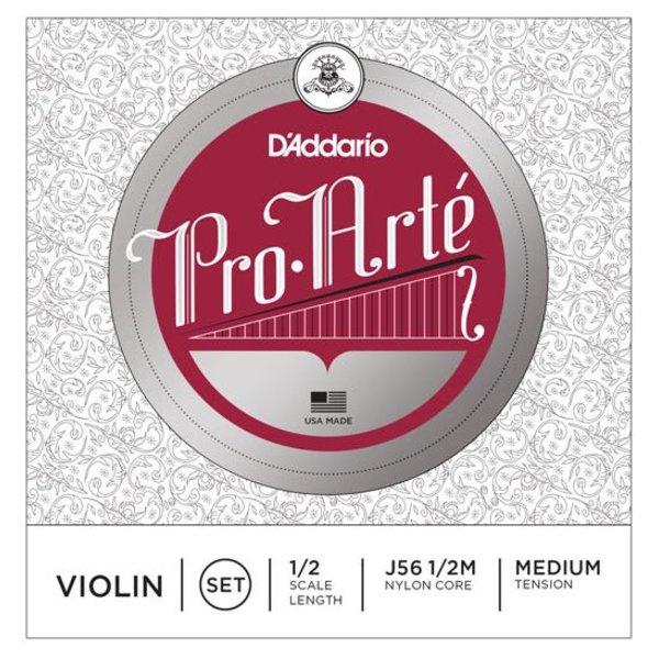 D'Addario Orchestral D'Addario Pro-Arte Violin String Set, 1/2 Scale, Medium Tension