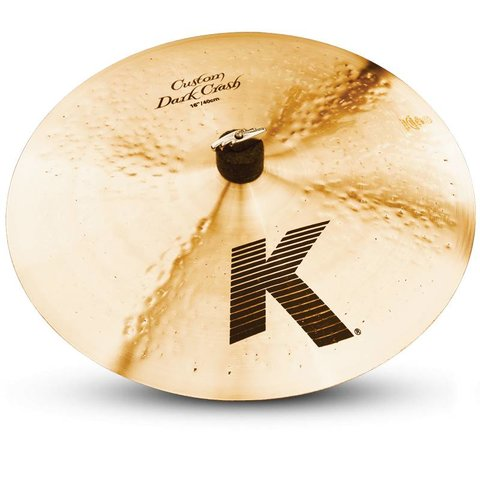 "Zildjian K0951 16"" K Custom Dark Crash"
