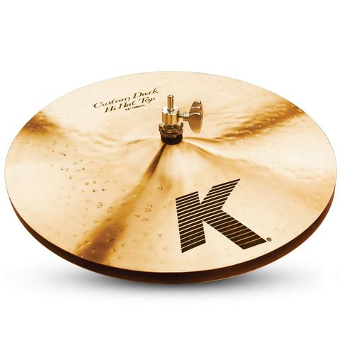 "Zildjian K0945 14"" K Custom Dark Hi Hat - Bottom"