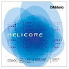 D'Addario Helicore Cello String Set, 4/4 Scale, Heavy Tension
