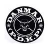 Danmar DMR210 Skull Bass Drum Impact Pad