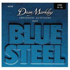 Dean Markley Dean Markley 2558 Blue Steel Electric Guitar Strings 10-52 Light Top/Heavy Bottom